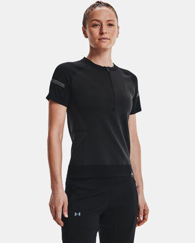 Women's UA IntelliKnit ¼ Zip Short Sleeve
