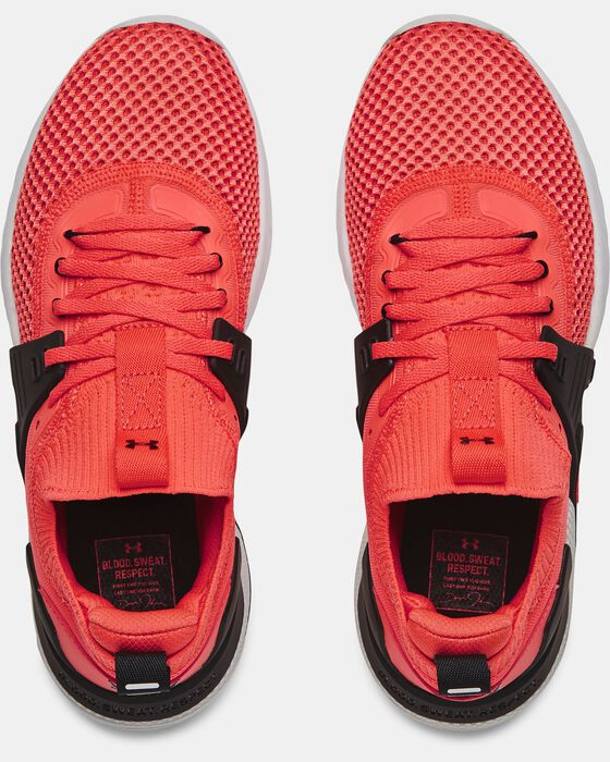 Women's UA Project Rock 4 Training Shoes image number 2