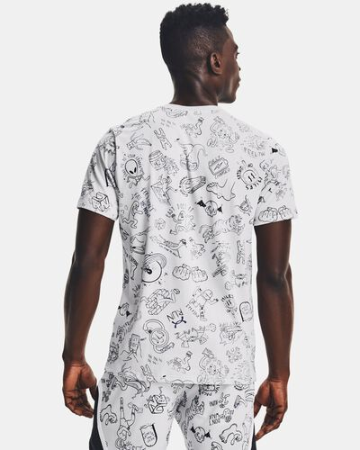 Men's UA Run Your Face Off Print Short Sleeve