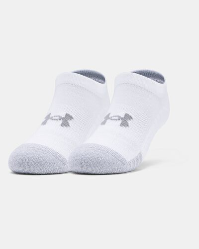 Youth HeatGear® No Show Socks 3-Pack