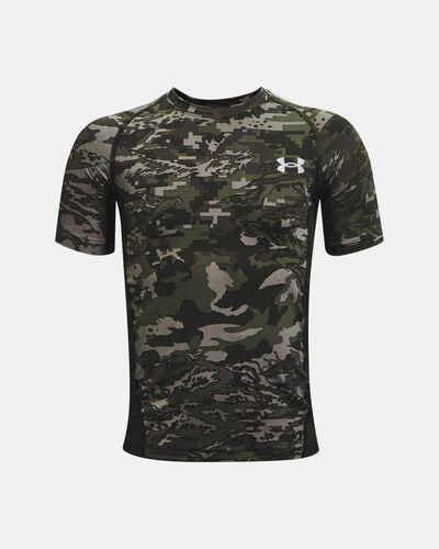 Boys' HeatGear® Armour Printed Short Sleeve