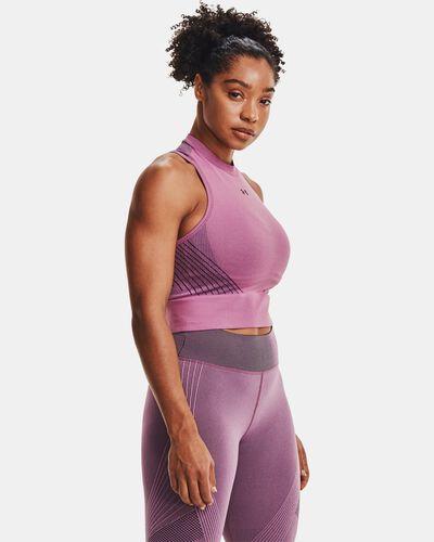 Women's UA RUSH™ Seamless Crop Top