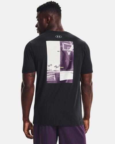 Men's UA Basketball Photo Short Sleeve