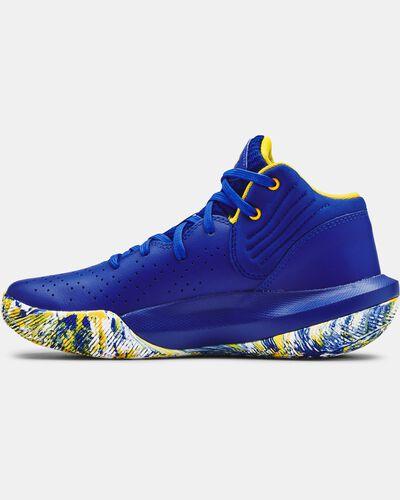 Grade School UA Jet '21 Basketball Shoes