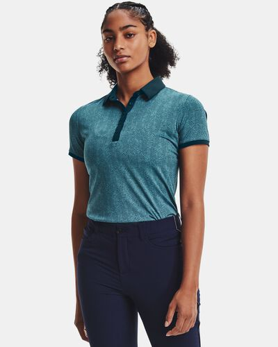 Women's UA Zinger Printed Short Sleeve Polo