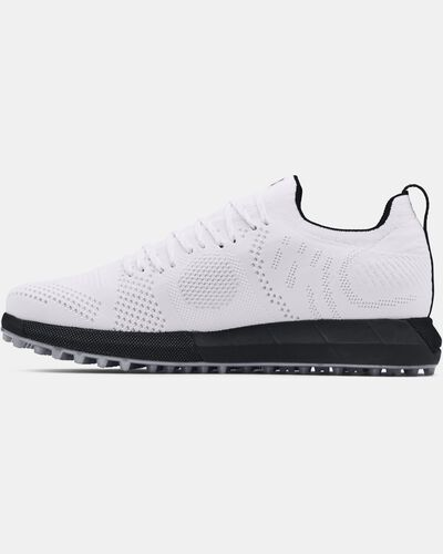 Men's UA HOVR™ Knit Lace Up Spikeless Golf Shoes