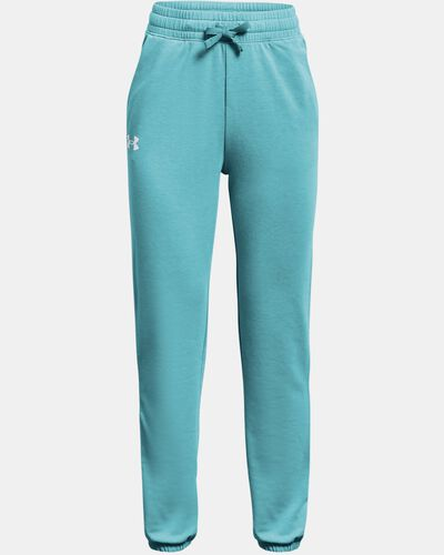 Girls' UA Rival Terry Taped Pants