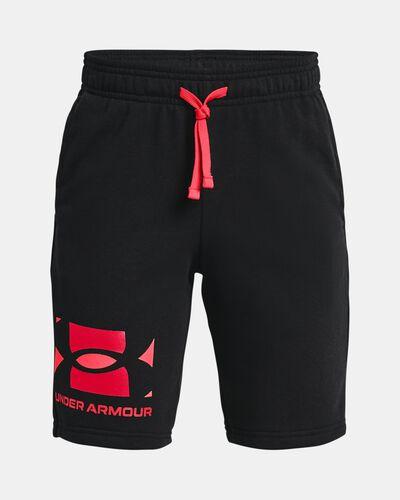 Boys' UA Rival Terry Big Logo Shorts