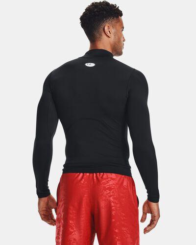 Men's HeatGear® Armour Mock Long Sleeve