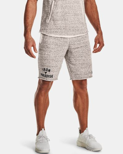 Men's Project Rock Terry Iron Shorts