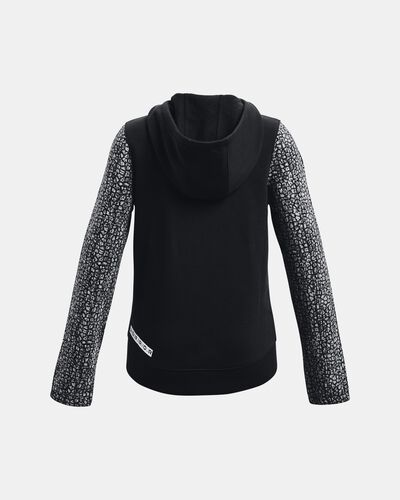 Girls' UA Rival Fleece Full-Zip