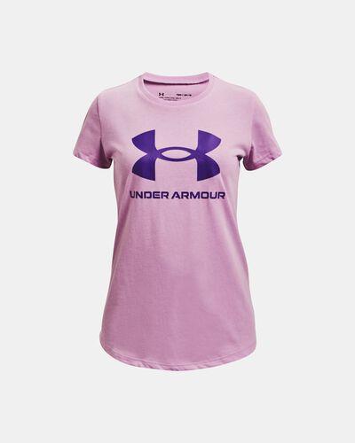 Girls' UA Sportstyle Graphic Short Sleeve