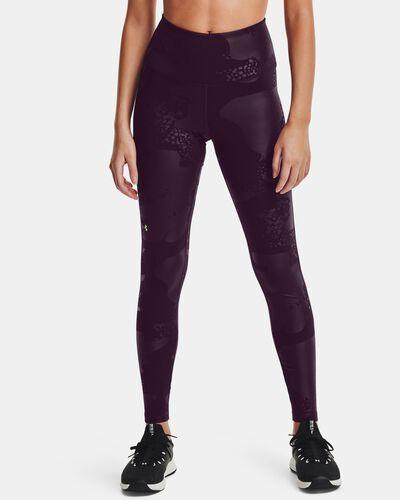 Women's UA RUSH™ No-Slip Waistband Tonal Full-Length Leggings