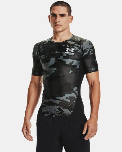 Men's UA Iso-Chill Compression Printed Short Sleeve