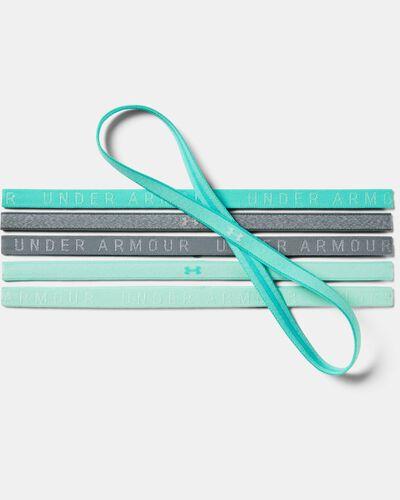 Women's UA Heathered Mini Headbands - 6 Pack