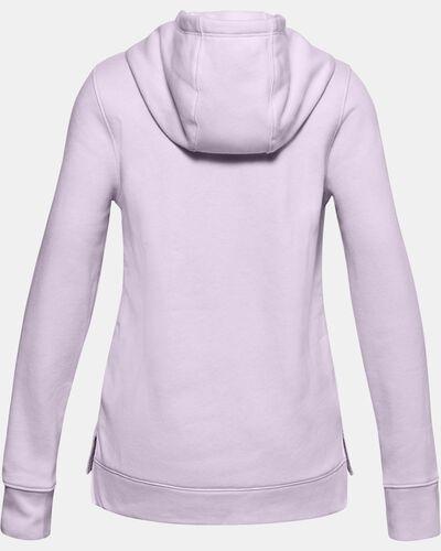 Girls' UA Rival Fleece Logo Hoodie