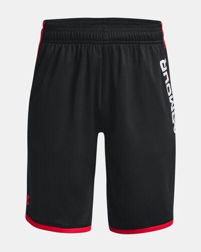 Boys' UA Stunt 3.0 Printed Shorts