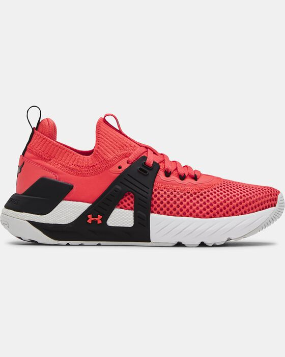 Women's UA Project Rock 4 Training Shoes image number 0