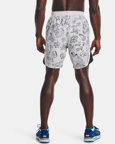 "Men's UA Launch 7"" Run Your Face Off Shorts"