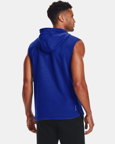 Men's Project Rock Charged Cotton® Fleece Sleeveless Hoodie