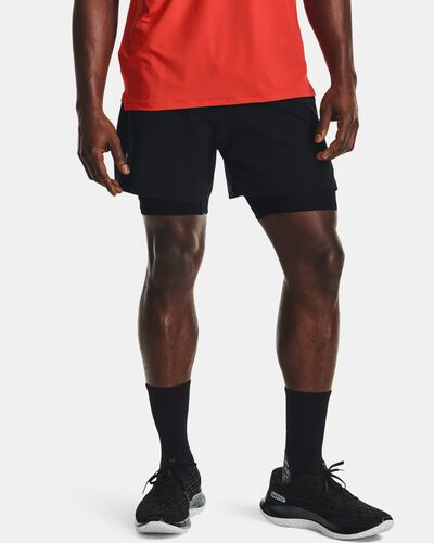 Men's UA Iso-Chill Run 2-in-1 Shorts