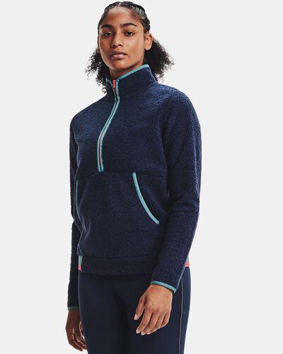 Women's UA Pile ½ Zip