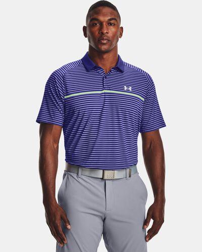 Men's UA Iso-Chill Hollen Stripe Polo
