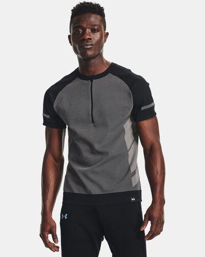 Men's UA IntelliKnit ¼ Zip Short Sleeve