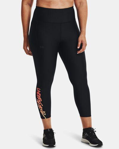 Women's HeatGear® Armour Graphic Ankle Leggings