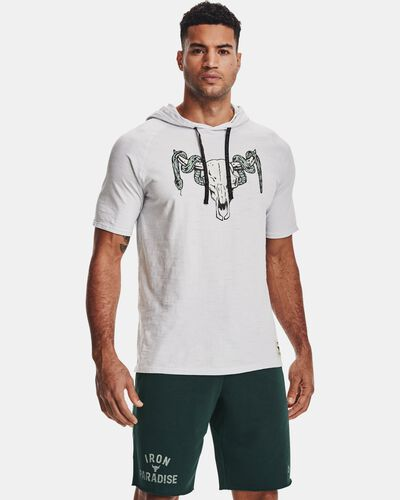 Men's Project Rock Charged Cotton® Short Sleeve Hoodie