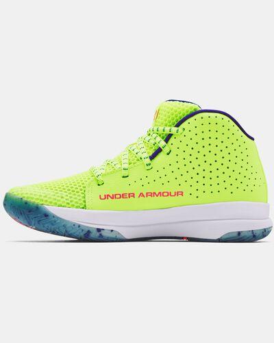 Grade School UA Jet Splash Basketball Shoes