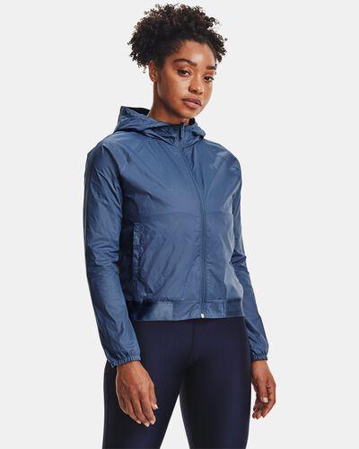 Women's UA Woven Reversible Full Zip