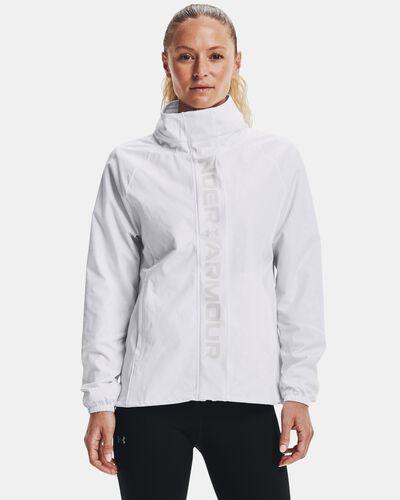 Women's UA RUSH™ Woven Print Full-Zip